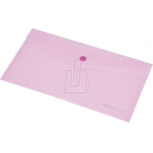 Koperta focus c4533 dl przezroczysta różowa marki Panta plast