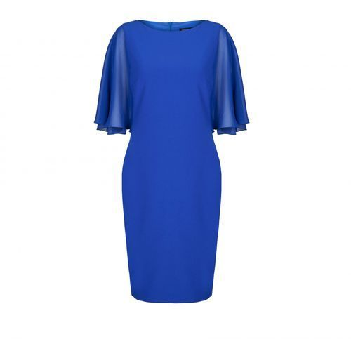 Sukienka 5553 (Kolor: niebieski, Rozmiar: 46), VV/O/5553