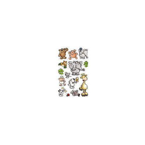Naklejki papierowe - Zwierzęta, 53193