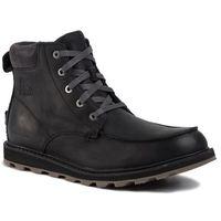Sorel Trzewiki - madson moc toe waterproof nm2346 black/dark grey 010