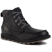 Trzewiki SOREL - Madson Moc Toe Waterproof NM2346 Black/Dark Grey 010, kolor czarny