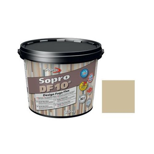 Fuga szeroka flex df10 design 33 beż jura 2 5 kg marki Sopro