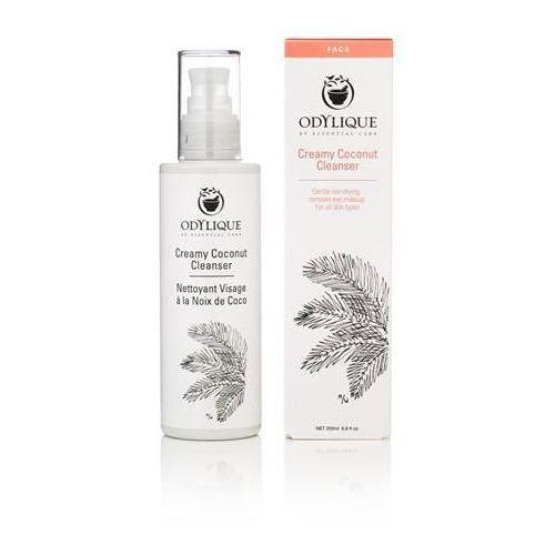 Odylique kremowe mleczko kokosowe do mycia twarzy 200 ml marki Essential care