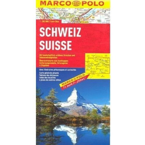 Szwajcaria. Mapa Marco Polo W Skali 1:303 000, DAUNPOL