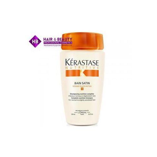 nutritive irisome bain satin 1, kąpiel odżywcza, włosy suche i cienkie, 250ml marki Kerastase