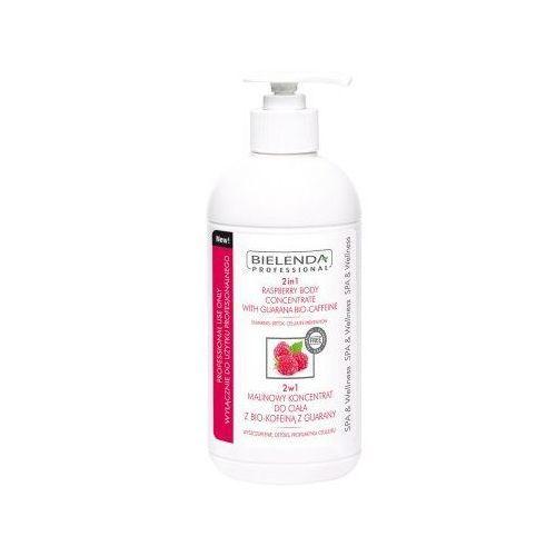Bielenda professional, 2in1 raspberry body concentrate. 2w1 malinowy koncentrat do ciała z bio - kofeiną z guarany, 450ml - bielenda professional