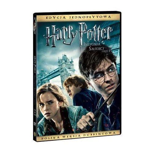 Harry potter i insygnia smierci, czesc 1 (1 dvd) od producenta Galapagos films