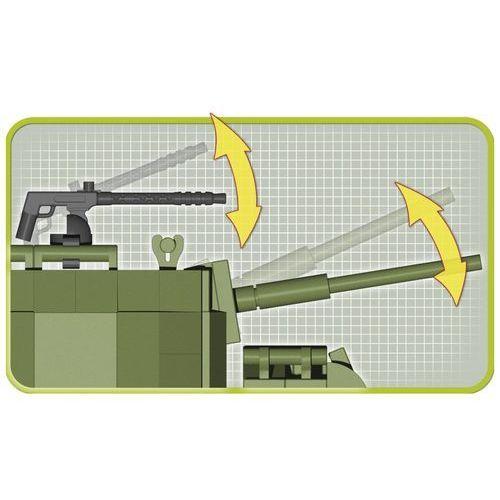 Cobi Armia 370 elementów m8 greyhound, amerykański samochód pancerny