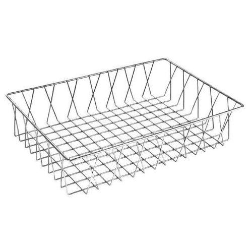 Koszyk druciany | 450x300x(H)100mm