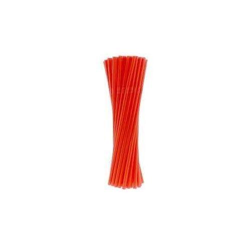 Słomki - rurki czerwone łamane - 21 cm - 40 szt. (5907509914348)