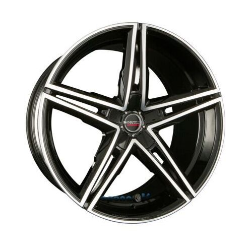 BORBET XRS Black Polished Glossy Einteilig 8.50 x 19 ET 30