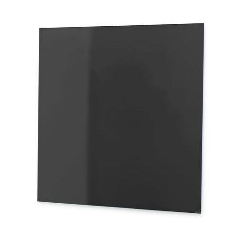 Tablica suchościeralna Mood, szkło, magnetyczna, 1000x1000 mm, czarny, 380331
