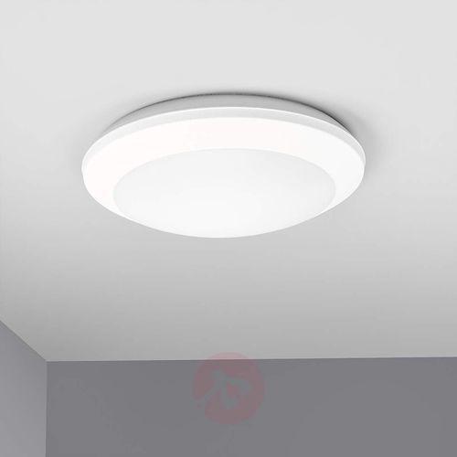 Biała lampa sufitowa UMBERTA z czujnikiem, 2xE27
