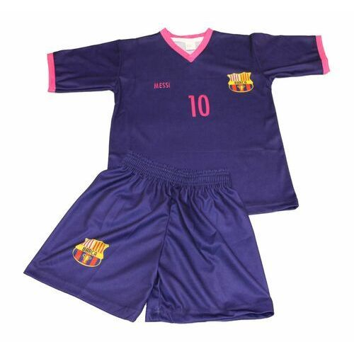 Komplet piłkarski Replika Messi 10 fiolet
