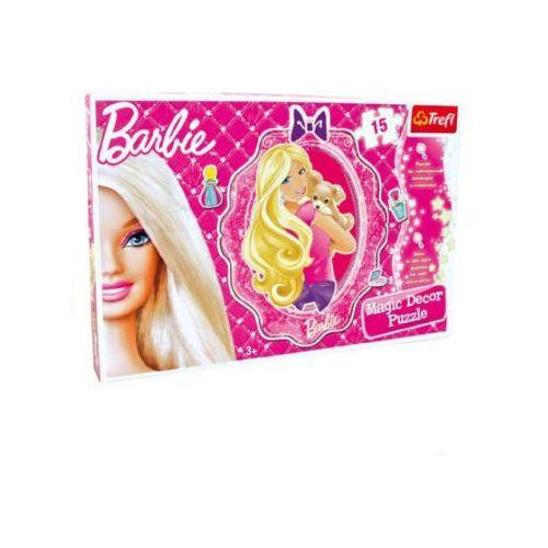 Legler  barbie - puzzle ścienne 15 elementów (4020972034441)