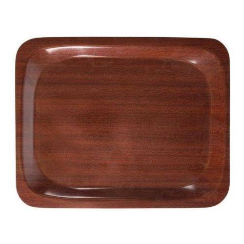 Taca serwisowa | mahoń | 32,5x26,5x(h)1,7cm marki Cambro