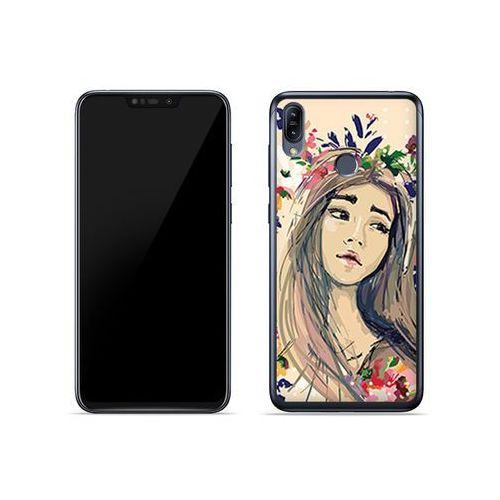 Asus Zenfone Max (M2) (ZB633KL) - etui na telefon Fantastic Case - kolorowy wianek, kolor wielokolorowy