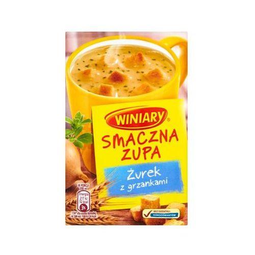 13g smaczna zupa żurek z grzankami marki Winiary