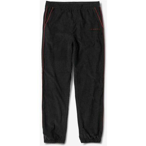 spodnie dresowe DIAMOND - Futura Corduroy Track Pant Black (BLK), kolor czarny