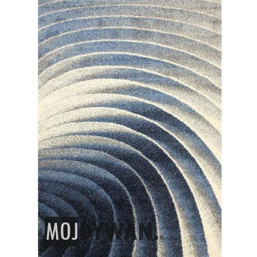 Dywanstyl.pl Dywan monster labirynt niebieski 117x170 prostokąt, kategoria: dywany