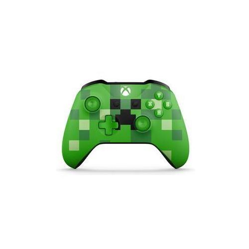 Microsoft Gamepad xbox one s wireless - minecraft creeper (wl3-00057)