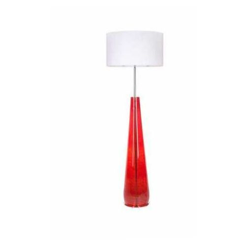4 concepts berlin red l233311301 lampa stojąca podłogowa 1x60w e27 czerwony marki 4concepts