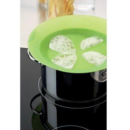 Lekue - pokrywka non-spill 27 cm - zielona