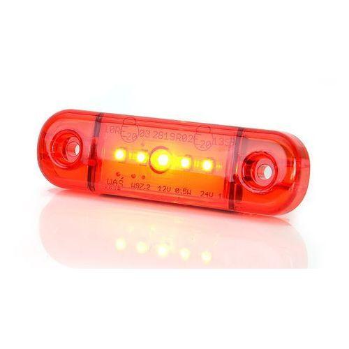 Lampa led pozycyjna tylna czerwona w97.2 (712) marki Waś