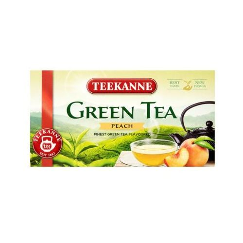 20x1,75g green tea peach herbata zielona marki Teekanne