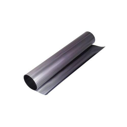 Folia pasek na przednią szybę 20x150 czarno-srebrn