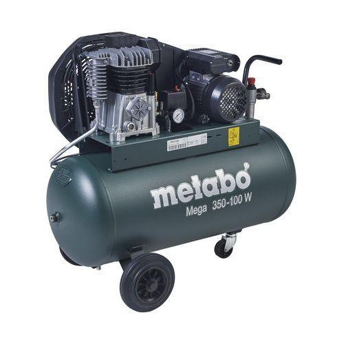 Kompresor olejowy 90 l 10 bar mega 350-100 w marki Metabo