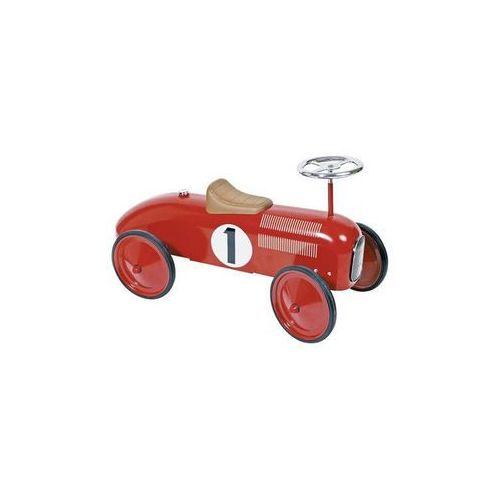 Goki Jeździk czerwona metalowa wyścigówka (4013594141352)