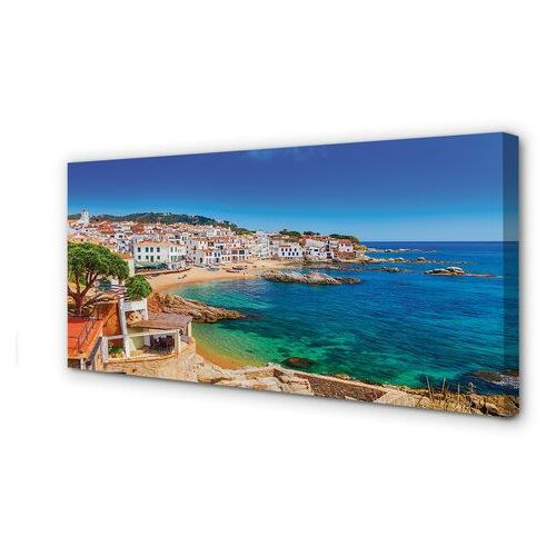Obrazy na płótnie Hiszpania Plaża miasto wybrzeże