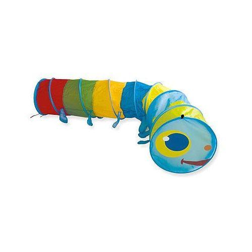 Bieco  gąsienica - tunel dla dzieci 46x250 cm, kategoria: domki i namioty dla dzieci