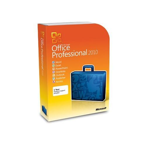 Microsoft Office 2010 Professional 32/64 bit
