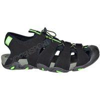 Męskie sandały trekkingowe h4l17 sam003 czarny 44, 4f