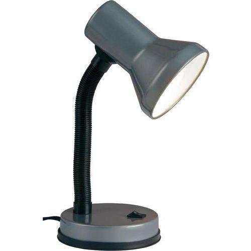 Brilliant Lampa stołowa junior 99122/11, e27 x 1, 40 w, 230 v, (Øxw) 13 cmx30 cm, tytanowy (4004353967504)