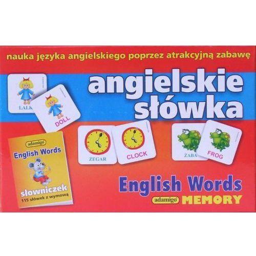 Gra memory angielskie słówka marki Adamigo