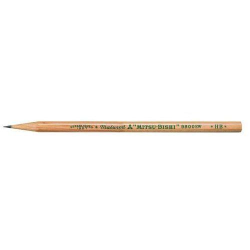 Ołówek drewniany bez gumki UNI 9800 HB - X05146, NB-2690