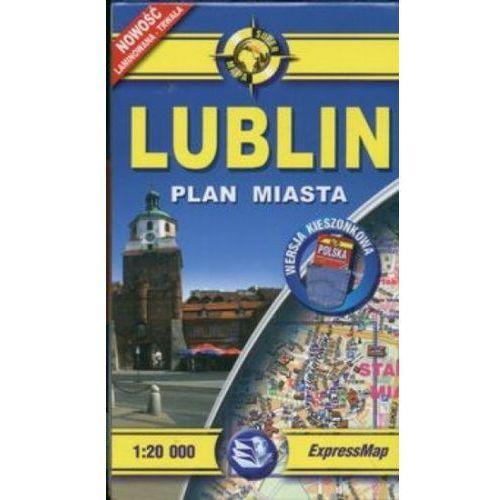Lublin 1:20 000 mapa kieszonkowa (2 str.)
