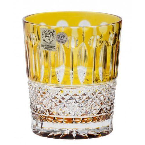 159421 szklanka tomy, kolor bursztynowy, objętość 290 ml marki Caesar crystal