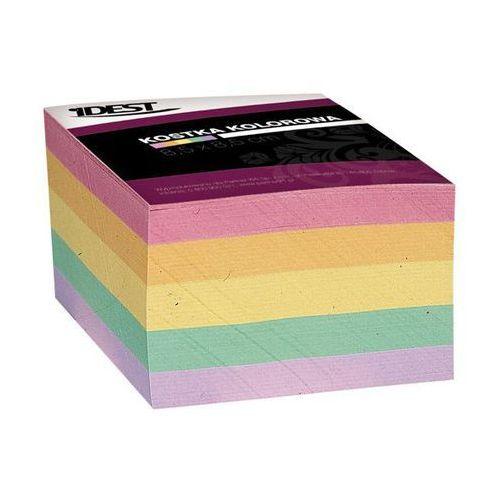 Kostka papierowa klejona 8,5x8,5/400k. mix marki Idest