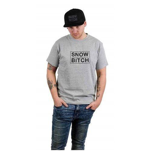 Snowbitch Koszulka - o.g. logo gray gray (gray) rozmiar: s