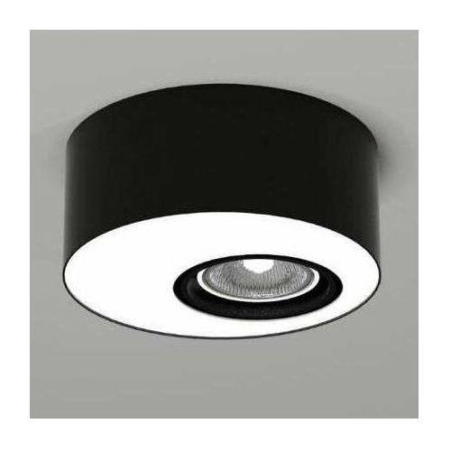 Lampa sufitowa toki 1122 natynkowa oprawa downlight do łazienki okrągły czarny marki Shilo