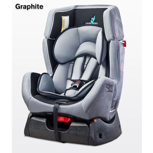 Caretero  fotelik samochodowy scope deluxe, graphite, kategoria: foteliki grupa i