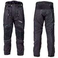 W-tec Męskie spodnie motocyklowe nf-2607, czarno-zielony, xxl