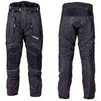 W-tec Męskie spodnie motocyklowe rusnac nf-2607, czarno-zielony, xxl