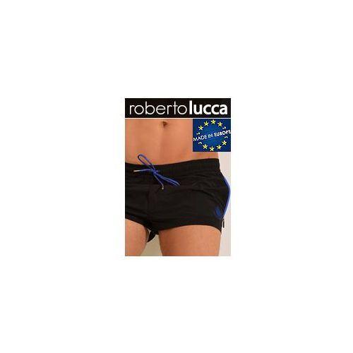 Roberto lucca Szorty kapielowe męskie rl150s142 monaco black/electric blue