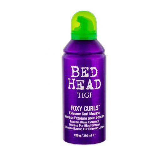 bed head foxy curls extreme curl mousse pianka do włosów 250 ml dla kobiet marki Tigi