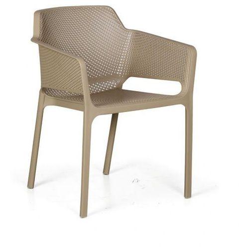 Fotel ogrodowy RUSTIC, beżowy, 3+1 GRATIS